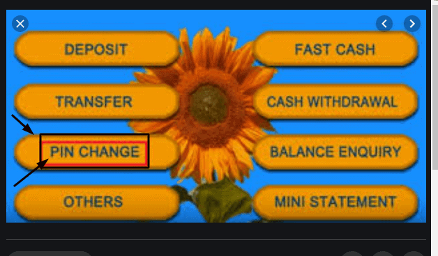 How to Change ATM Pin