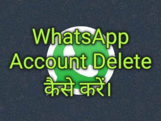 WhatsApp Account Delete